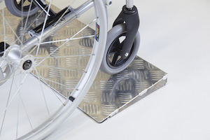Aluminium Threshold Wedge Ramp