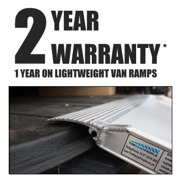 2 year warranty on van ramps