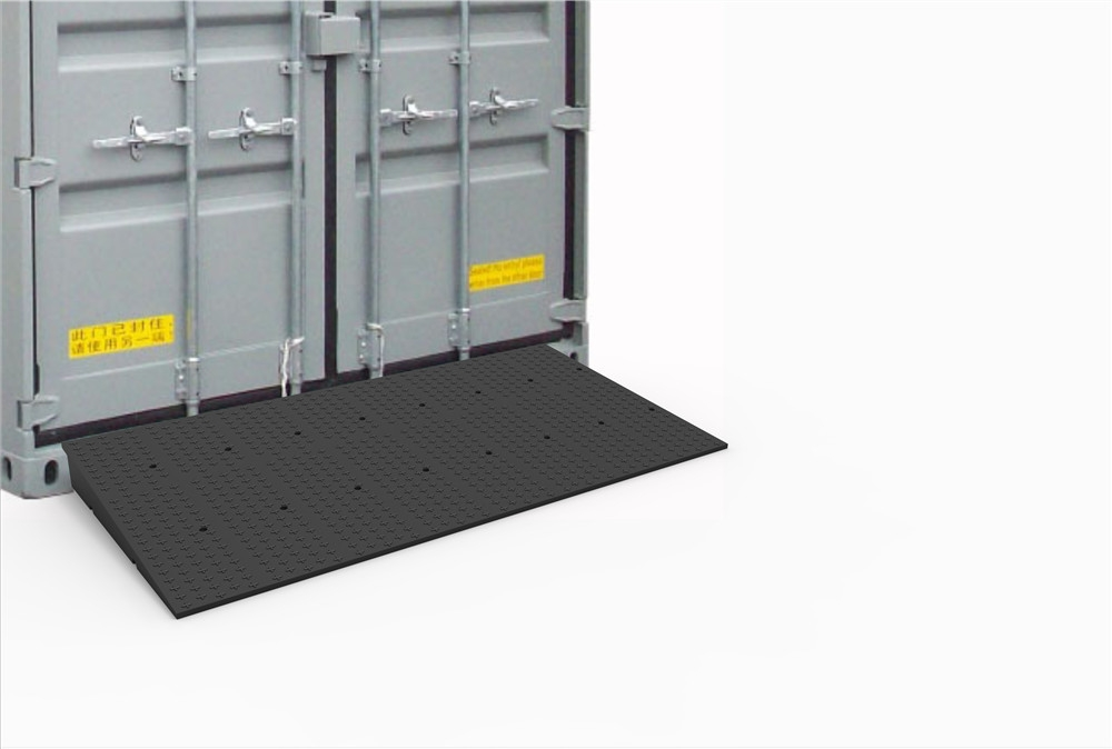 rubber container ramps