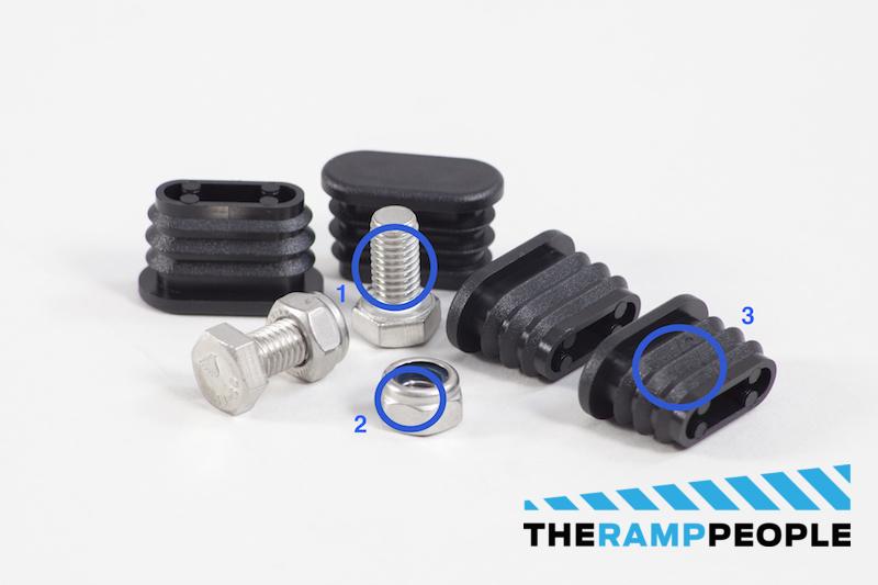 Modular Wheelchair Ramp System Ramp Section Fixings