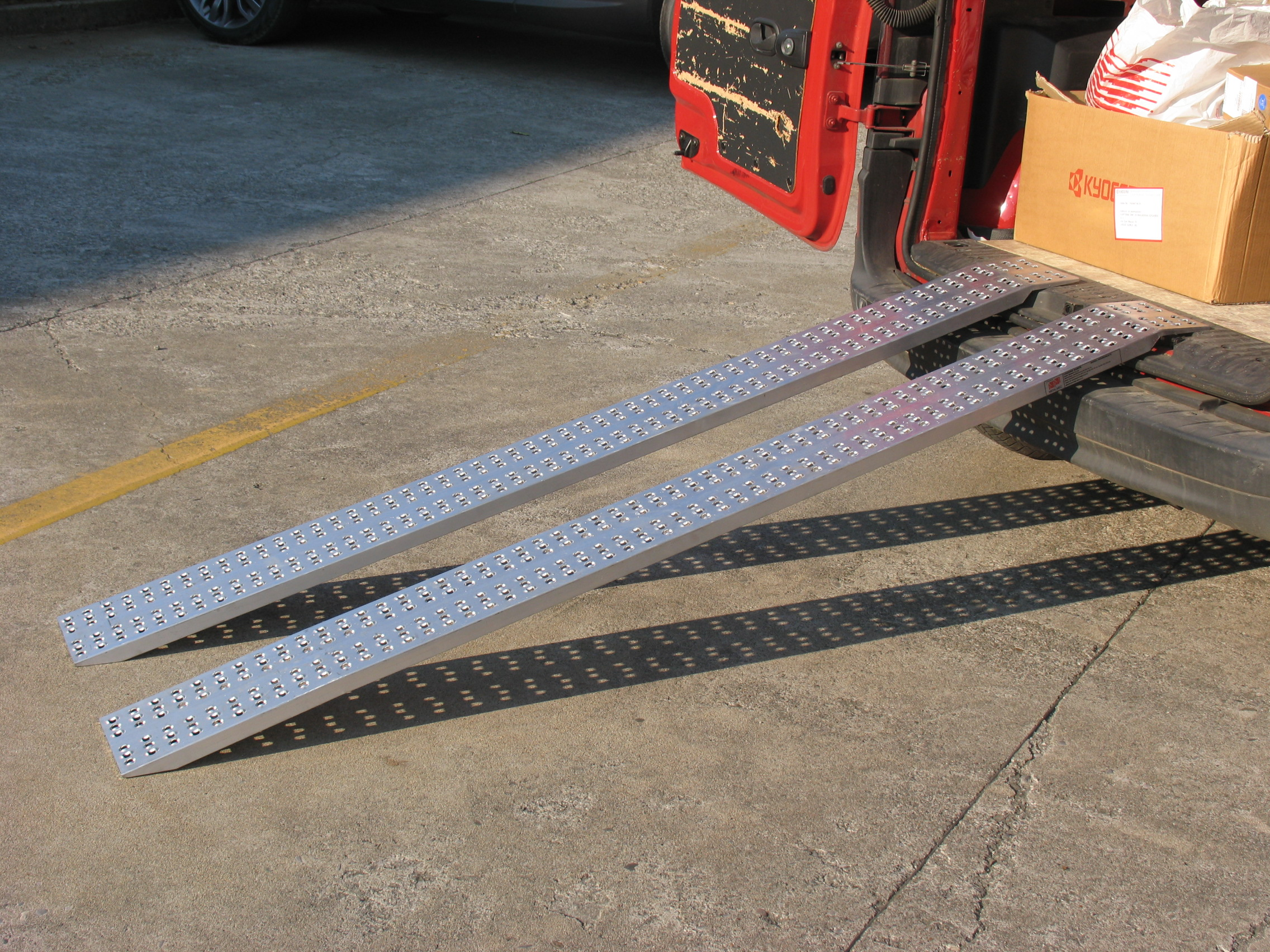 Non Folding Loading Ramp