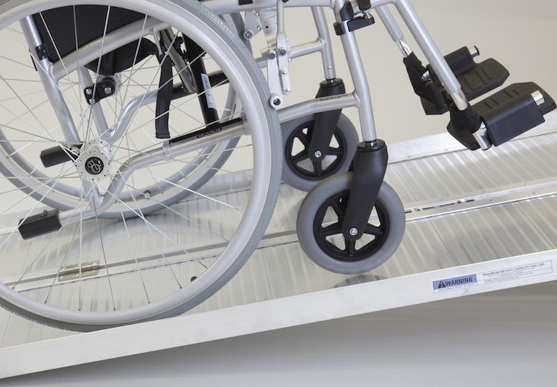 Economy Folding Wheelchair Ramp