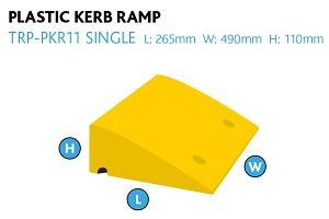 aluminium wedge ramp container
