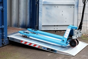 aluminium pallet truck ramp