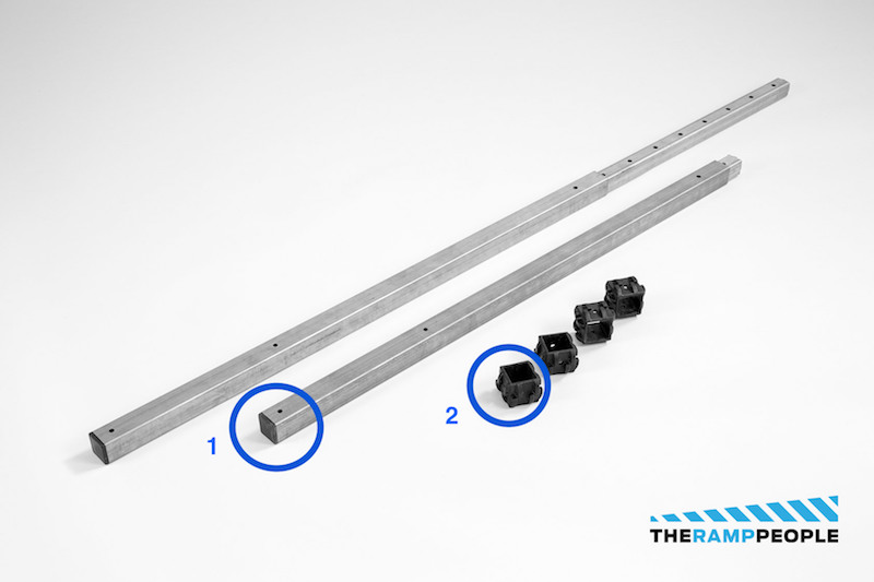 Modular Wheelchair Ramp System Stanchions