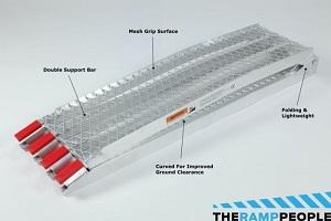 selling points motorcycle mesh ramp